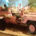 Royal Signals Museum: SAS 'Pink Panther' Land Rover