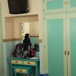 Habitaciones amplias pero con mobiliario muy antiguo
