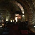 cavernous interior