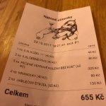 2 main meals / 2 deserts / 3 beers - good value