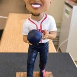 Mookie Betts bobblehead issued in 2014.