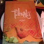 Taboula Menu