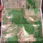 North park map - mostly hiking, not escarpment trails