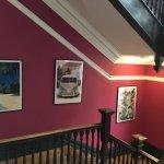 Kinlay House - hall art