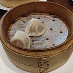 Shui Mai, Har Gow, and pork dumplings we ordered.
