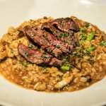 Steak and Risotto