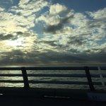 going across the Chesapeake Bay Bridge