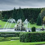Slow shutter speed fountains
