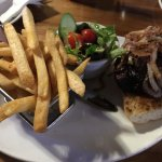 Elk & Oarsman steak sandwich