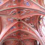 Le plafond des anges musiciens