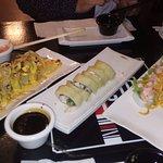 variedada de sushis