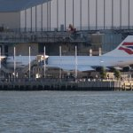 The BA Concorde at the Intrepid Museum