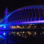 The Salford Quays - North Bay Bridge (within walking distance from hotel)