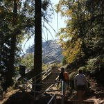 Beginning of Climb to Moro Rock