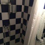 douche avec rideau