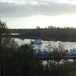 view of Shannon river from room