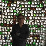 Imagine one man's dedication building houses out of bottles.