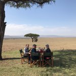 Breakfast in the Mara!