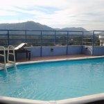 Rooftop pool. Great 360 degree views!