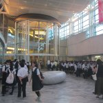 Inside entrance hall