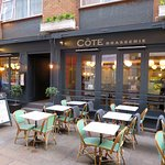 Very nice place to eat - Cote Brasserie - London W1U (25/Oct/17).