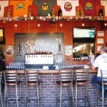The bar at Socorro Springs Brewing Co... great service.!