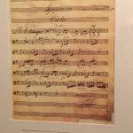 musical notation from Dvorak