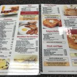 Long Neck Diner breakfast menu