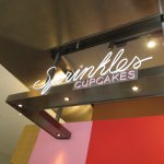 The sign above Sprinkles