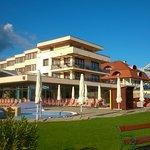 hotel flamingó outside pool