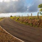 One Lane Road to Halawa Valley