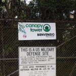 This was once a United States military base, but no more.