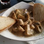Mushrooms in garlic and Cognac Sauce - the best I have ever tasted