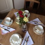 Afternoon tea available as well as a selection of other hot and cold treats and of course cake