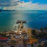 View of Seatran Discovery Bangrak pier Koh Samui