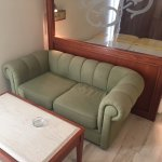 """Sofa area (where it was balcony before, now """"closed in"""")"""