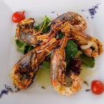 Perfectly Grilled Prawns