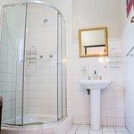 Room 3  en-suite bathroom with shower.