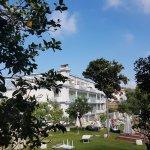 Hotel from the lemon garden
