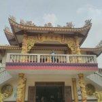 Japanese temple visited in kushinagar