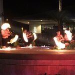 Amazing Fire dance with great live music