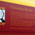 Who developed the chocolate boxes?
