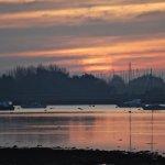 Sunrise in Emsworth