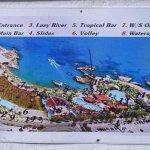 map of Star Beach water park