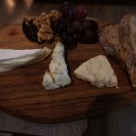 Platter of unpasteurized French cheese