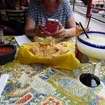 Margaritas and nachos...