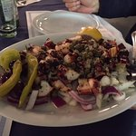 Double order of grilled octopus