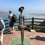 Amazing. You have the most beautiful view, but you spoil it with the ugliest statue ever created