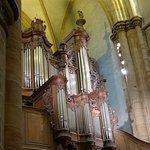 Comar, Collégiale Saint Martin, organ