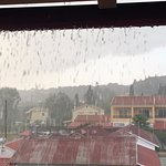 When it rains in Corfu...! Fortunately only the once in our stay :-)